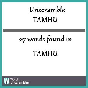 Tamhu EIS